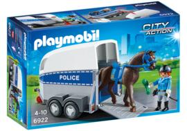 Playmobil 6922 - Bereden politie met trailer