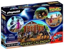 Playmobil 70576 - Adventskalender Back to the Future - part III