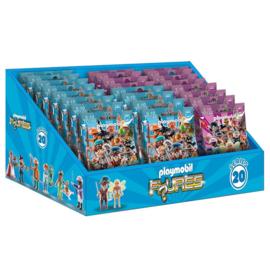 Playmobil 70148 + 70149 Figures Series 20 Display