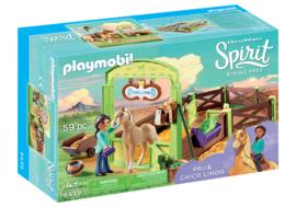 Playmobil 9479 - Pru & Chica Linda met paardenbox