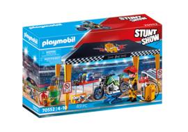 Playmobil 70552 - Stuntshow Werkplaats tent