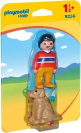 1.2.3. Playmobil 9256 - Man met hond