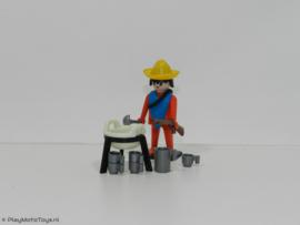 Playmobil 3344x - Mexicaan met kookset,  2ehands