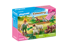Playmobil 70608 - Kado set Boer met dieren
