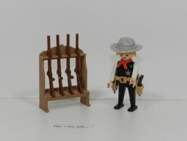 Playmobil 3381 - Sherrif,  2ehands