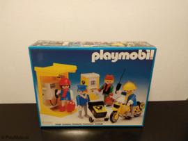 Playmobil 3231 - Postbodes met telefooncel & motor, V1 MISB