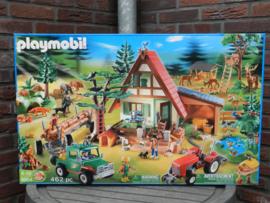Playmobil 5004 - Grote bosbouw set - Exclusive