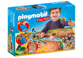 Playmobil 9329 - MotoCross Playmap