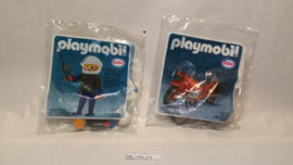 Playmobil Esso USA Promoset Motorcycle & Rider MISB
