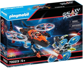 Playmobil 70023 - Galaxy piratenhelikopter