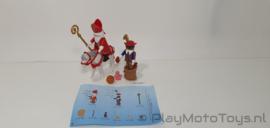 Playmobil 4893 - Sint & Piet, gebruikt.