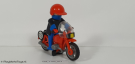 Playmobil 3565 - Racemotor, gebruikt