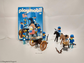 Playmobil 3485 - U.S. Cavalry (V2) (used, in box)