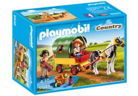 Playmobil 6948 - Picknick met ponywagen