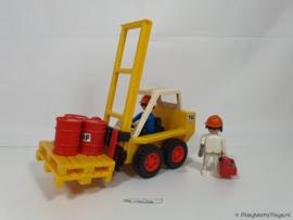 Playmobil 3506 - Heftruck, gebruikt