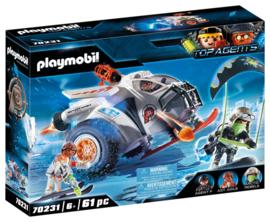 Playmobil 70231 Spy Team sneeuwmobiel met licht en geluid