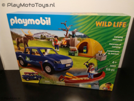 Playmobil 5669 - Wildlife Camping Adventure exclusive