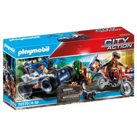 Playmobil 70570 - Achtervolging van de schattenrovers