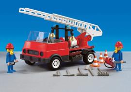 Playmobil 7786 - Oude brandweer ladderwagen DS - MISB