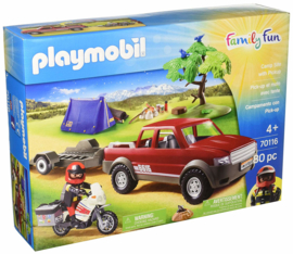 Playmobil 70116 - Pick-Up Truck Adventure exclusive