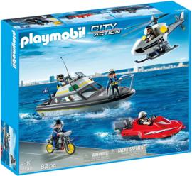 Playmobil 5990 - Port Guard Tactical Unit Set , MIB.