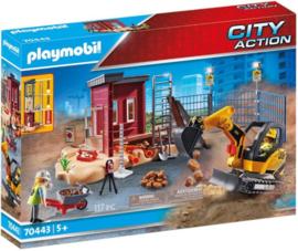 Playmobil 70443 - Mini graafmachine met bouwonderdeel