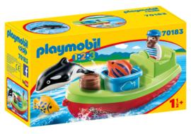 1.2.3. Playmobil 70183 - Vissersboot