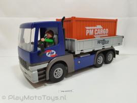 Playmobil 5255 - Cargo truck met container, 2ehands
