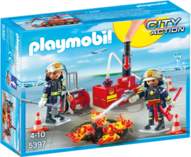 Playmobil 5397 - Brandweerteam met waterpomp