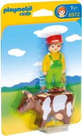 1.2.3. Playmobil 6972 - Boer met koe