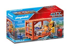 Playmobil 70774 - Container productie