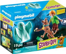 Playmobil 70287 Scooby en Shaggy met geest