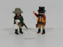 Playmobil 5512 - Sherrif met bandiet,  2ehands