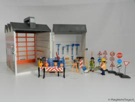 Playmobil 4043 - Meeneem Werkplaats, gebruikt.