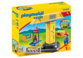 1.2.3. Playmobil 70165 - Bouwkraan