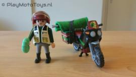 Playmobil 5237 - Wetenschapper met motor,  2ehands