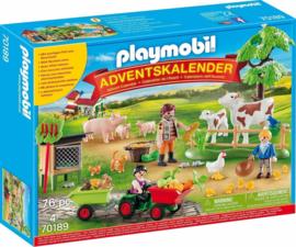 Playmobil 70189 - Adventskalender Boerderij