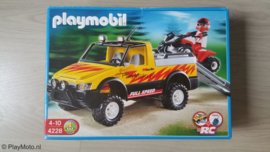 Playmobil 4228 - Pickup met quad