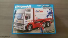 Playmobil 9370 - EuroTrans Vrachtwagen (exclusive set)