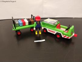 Playmobil 3212 - Vliegveld bagageservice, gebruikt
