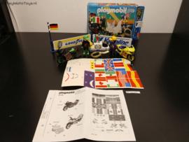 Playmobil 3779 - Victory Racing Motorcycles, gebruikt met doos