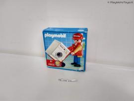 Playmobil 4903 - Miele vertegenwoordiger met wasmachine Promo, V1