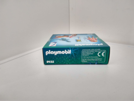 Playmobil 9431 - Motorcrosser met Raptor