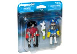 Playmobil 70080 - DuoPack Ruimte agent en robot