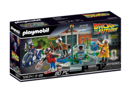 Playmobil 70634 - Back to the Future Part II: Hoverboard achtervolging