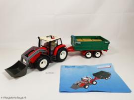 Playmobil 4496 - Tractor met aanhangwagen, gebruikt