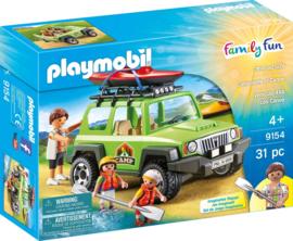 Playmobil 9154 - Familieterreinwagen met kajaks