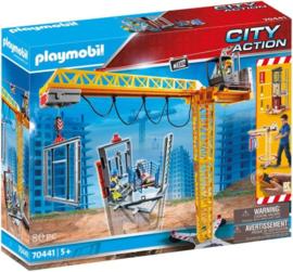 Playmobil 70441 - Bouwkraan RC met bouwonderdeel