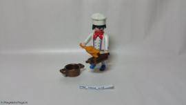 Playmobil 4593 - Chefkok special, 2e hands