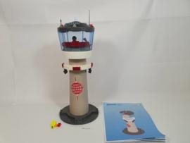 Playmobil 4313 - Vliegveld Controletoren, gebruikt & compleet.